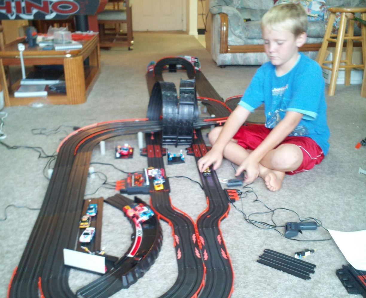 The Ho Scale Slot Car Race Track Project Robandkids Wiring